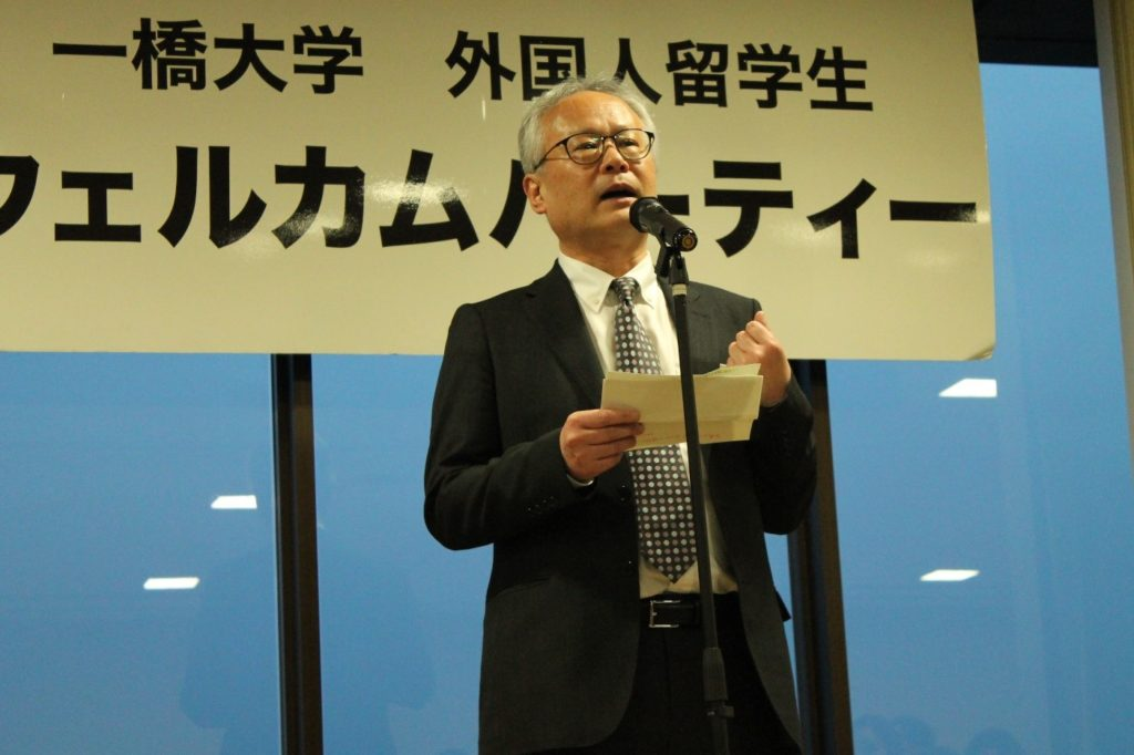 Congratulatory speech by Mr. Mitsuhiro Takeuchi (Kunitachi City Hall)