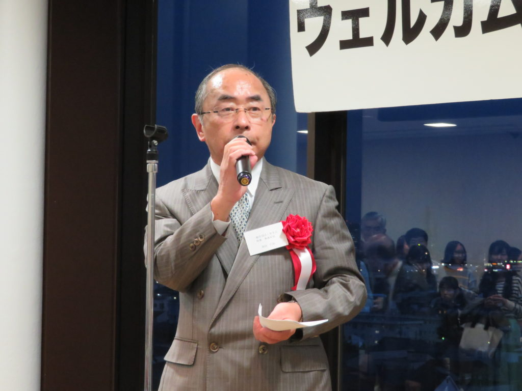 Congratulatory speech by Mr. Enji Okada (Josuikai)