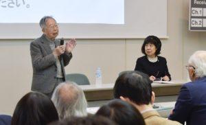 水田洋・名古屋大学名誉教授による講演