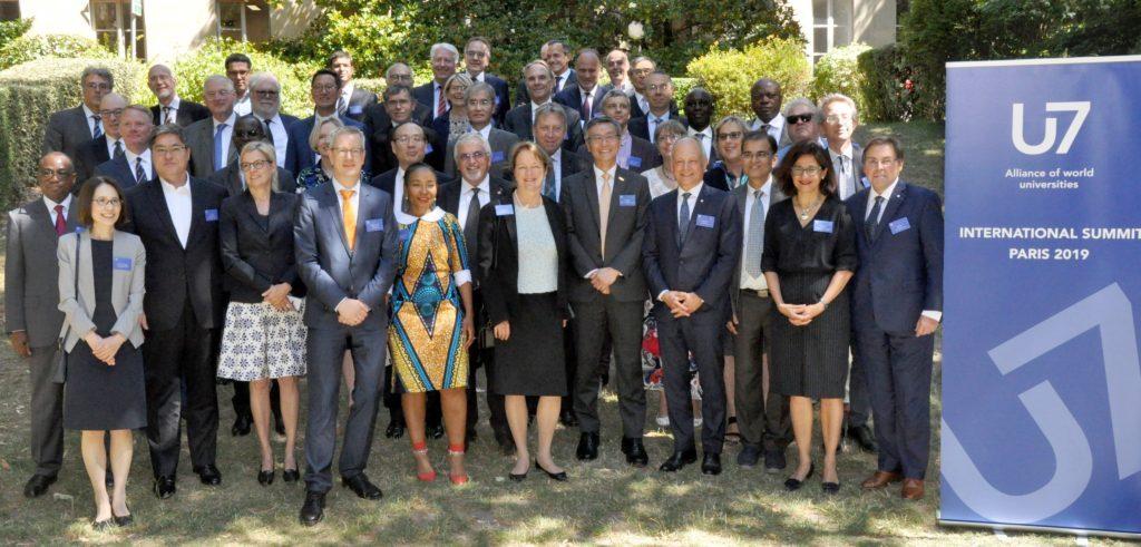 Group Photo of the U7+ Alliance